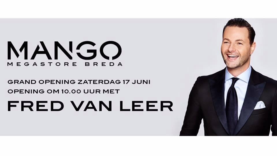 Mango Kleding.Grand Opening Van Mango Megastore Breda Op Zaterdag 17 Juni