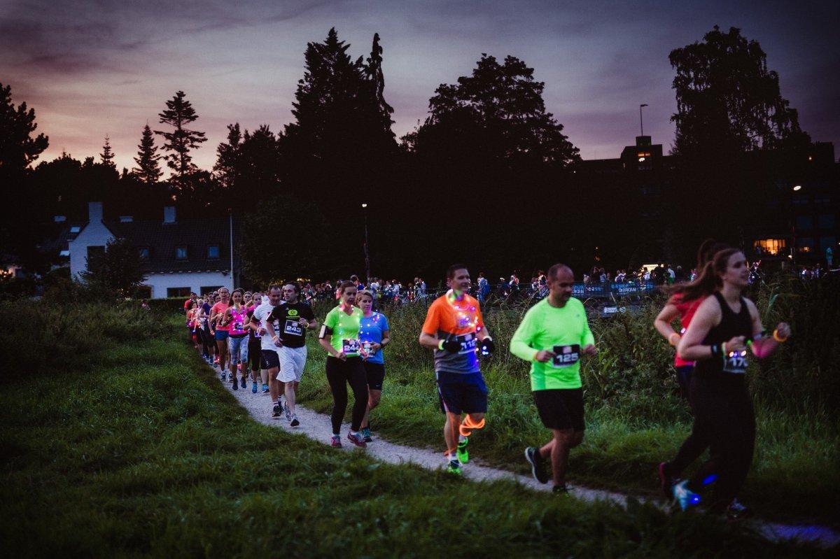 Licht Voor Hardlopen : Leds go hardlopen in een magisch verlicht mastbos stappen